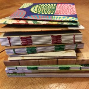 Handgebonden notitieboekjes